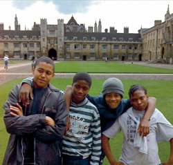 Camberwell kids in Great Court