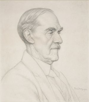 Alan Gray, by Paul Drury, 1927