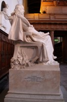 Alfred, Lord Tennyson. Click for enlarged photograph