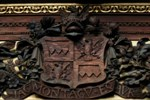 Montagu crest. Click for enlarged photograph